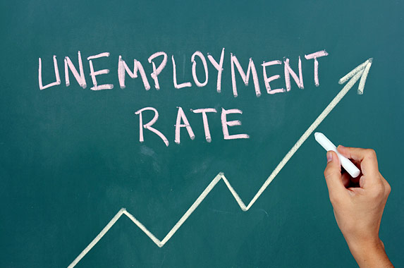 unemployment rate increase